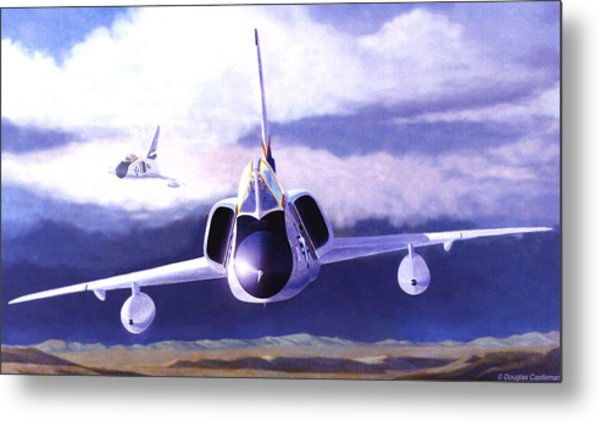 F-106a Head-on Metal Print