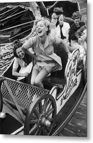 Fair Fun Metal Print by Kurt Hutton