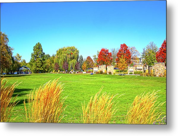 Metal Print featuring the photograph Fall Colors In Boise, Idaho by Dart and Suze Humeston