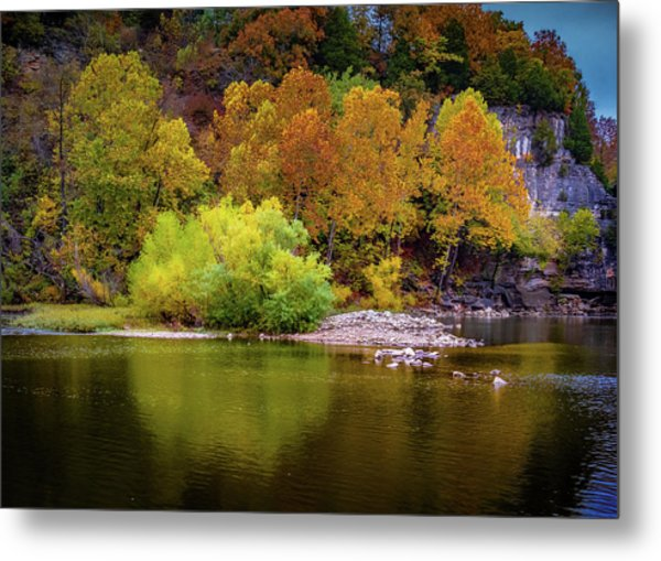 Fall Colors Of The Ozarks Metal Print