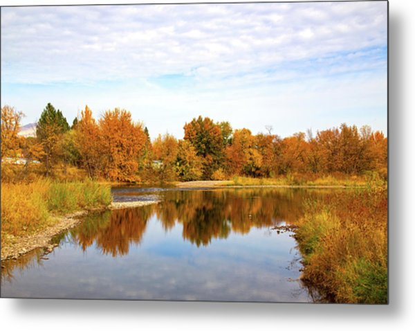 Metal Print featuring the photograph Fall In Emmett, Idaho by Dart and Suze Humeston