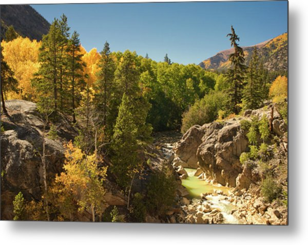 Fall On Independence Pass Metal Print