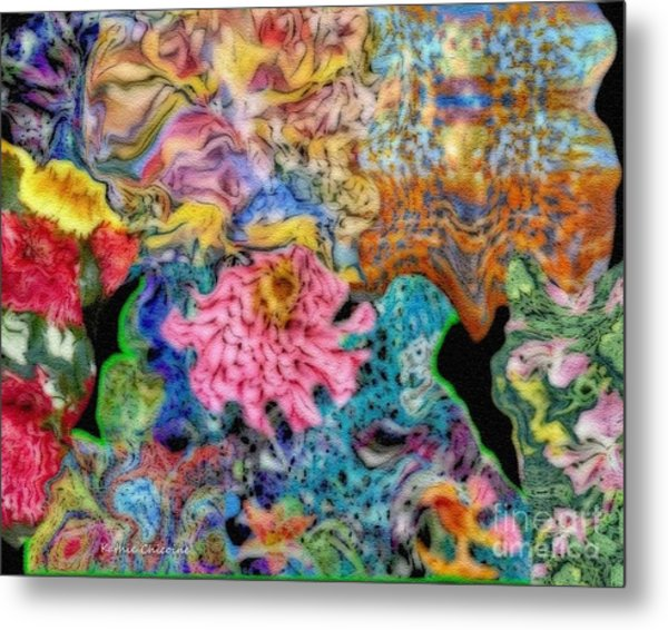 Fascinating Color Metal Print
