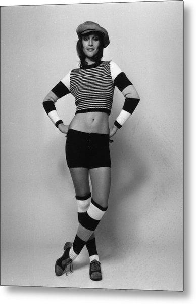 Fashion Stripes Metal Print by Evening Standard