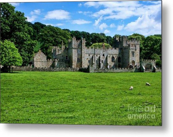 Featherstone Castle Metal Print