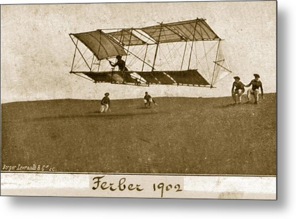 Ferbers Glider Metal Print by Hulton Archive