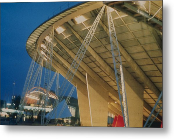 Festival Building Metal Print by Hulton Archive