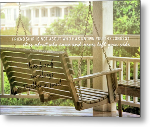 Find Perspective Quote Metal Print