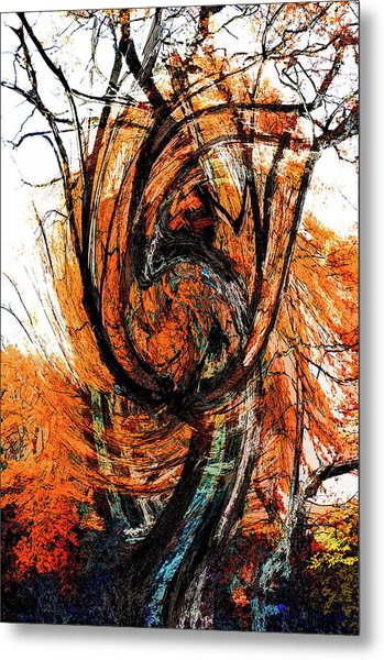 Metal Print featuring the photograph Fire Tree 2 by Michael Arend