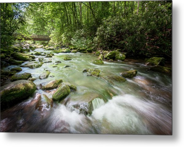 Metal Print featuring the photograph Fires Creek, North Carolina by Mark Duehmig