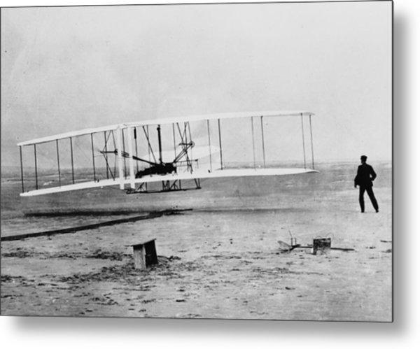 First Flight Metal Print