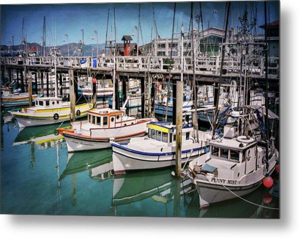 Fishermans Wharf San Francisco  Metal Print