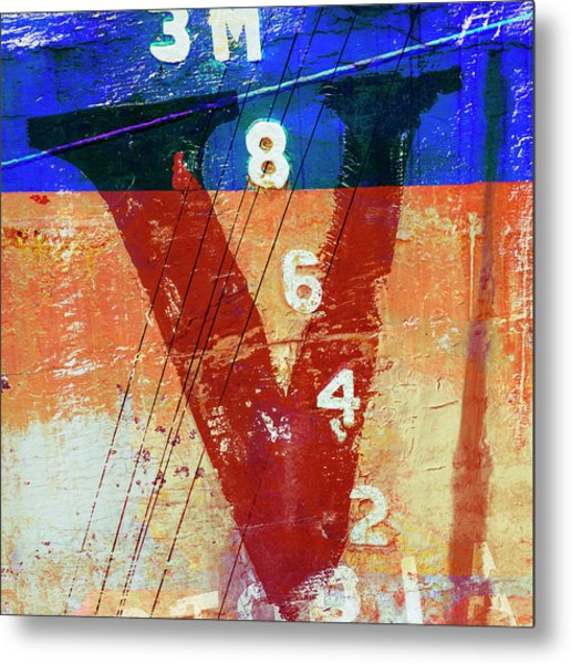 Fishing Vessel Vivian Astoria Oregon Metal Print