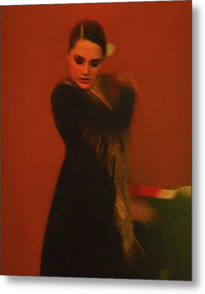 Flamenco Series 2 Metal Print