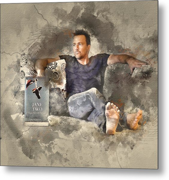 Flanery With Jane Two Metal Print