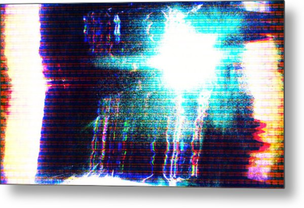 Metal Print featuring the photograph Flashlight by Bee-Bee Deigner
