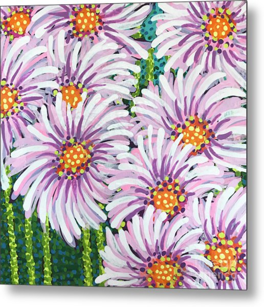 Floral Whimsy 1 Metal Print