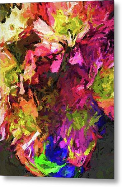 Flower Colour Love 1 Metal Print