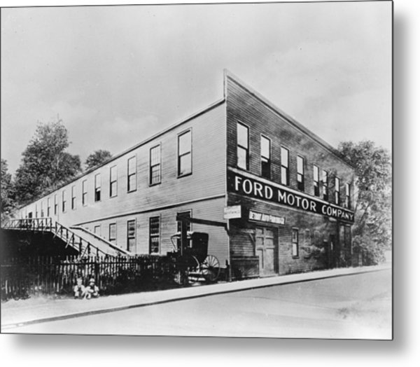 Ford Factory Metal Print by Keystone Features