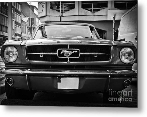 Ford Mustang Vintage 1 Metal Print