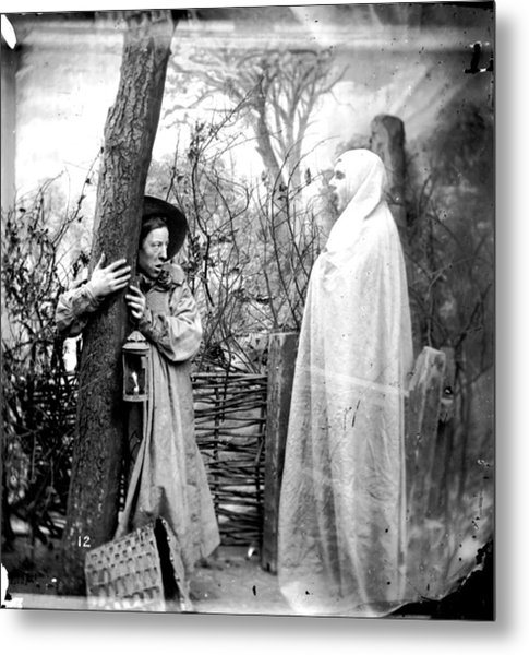 Forest Apparition Metal Print by London Stereoscopic Company