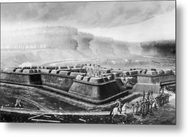 Fort Stanwix Metal Print by Fotosearch
