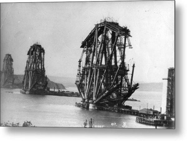 Forth Bridge Metal Print by Alex Inglis