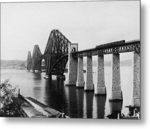 Forth Railway Bridge Metal Print by Hulton Archive