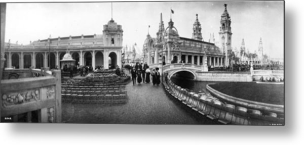 Franco-british Fair Metal Print by London Stereoscopic Company