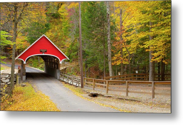 Franconia Notch State Park, New Metal Print