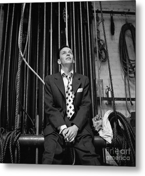 Frank Sinatra Show Metal Print by Cbs Photo Archive