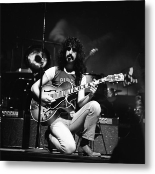 Frank Zappa And The Mothers In Ny Metal Print
