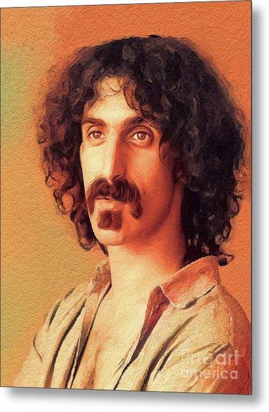 Frank Zappa, Music Legend Metal Print