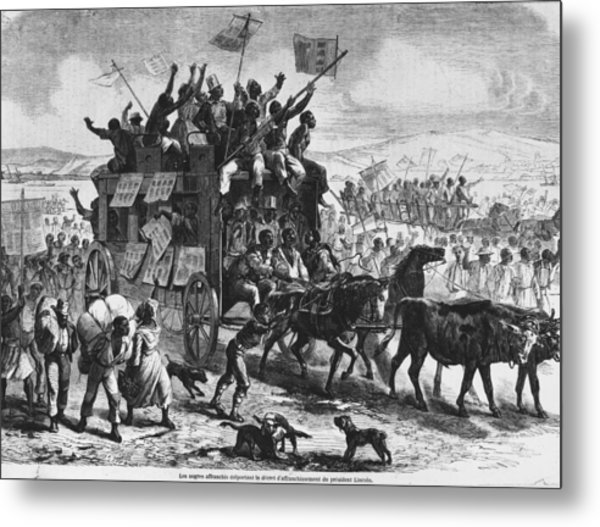 Freedom Metal Print by Hulton Archive