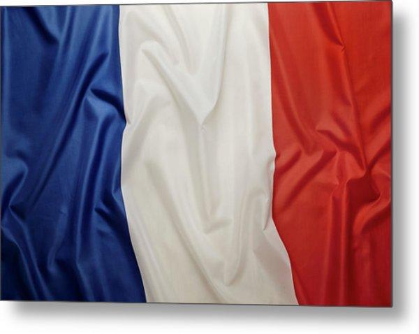 French Flag Metal Print by Joseph Clark