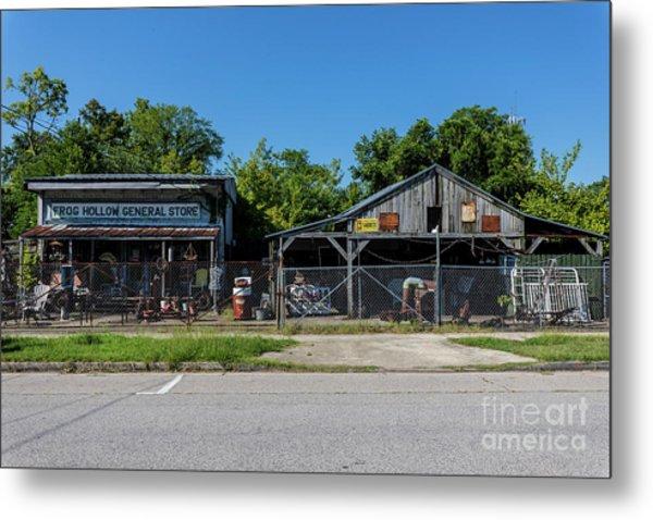 Frog Hollow General Store - Augusta Ga Metal Print