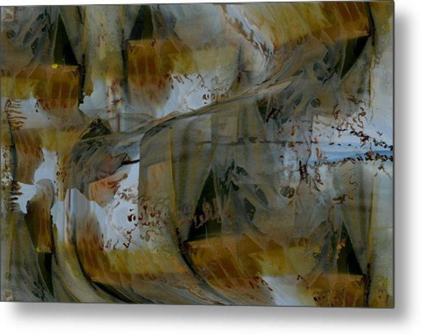 Metal Print featuring the digital art From Fall To Winter by Roy Erickson