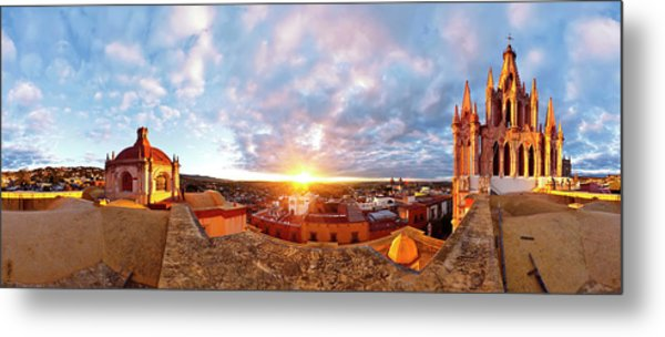 From Inmaculada Concepcion Church Metal Print