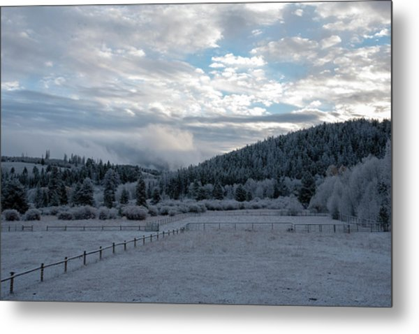 Frosted Sunrise 1 Metal Print