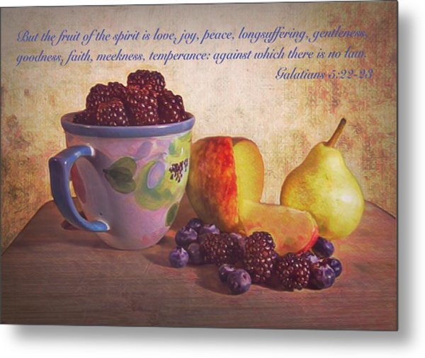 Fruit Of The Spirit Metal Print