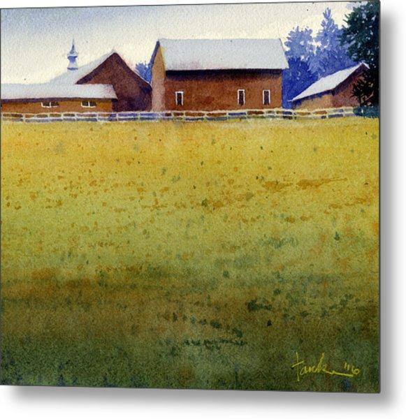 Garner Farm, Mineral Point, Wi Metal Print