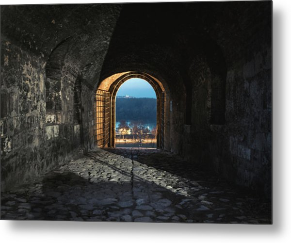 Gate At Kalemegdan Fortress, Belgrade Metal Print