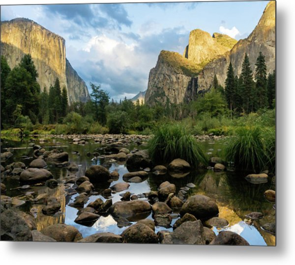 Gates Of The Valley 3 Metal Print