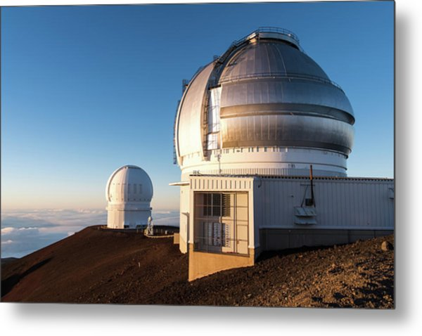 Metal Print featuring the photograph Gemini Observatory by William Dickman