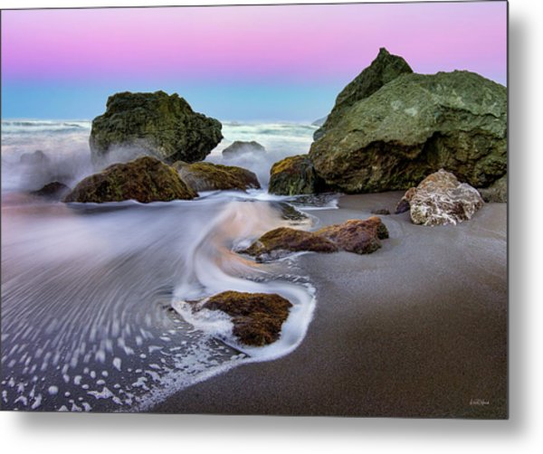 Metal Print featuring the photograph Gentle Waves by Leland D Howard