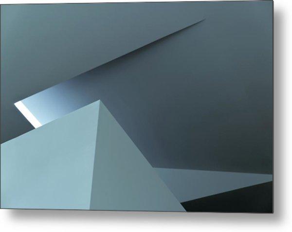 Geometric Architecture Metal Print by Photographer Ximo Michavila