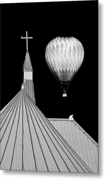 Geometric Patterns At Balloon Fest Metal Print
