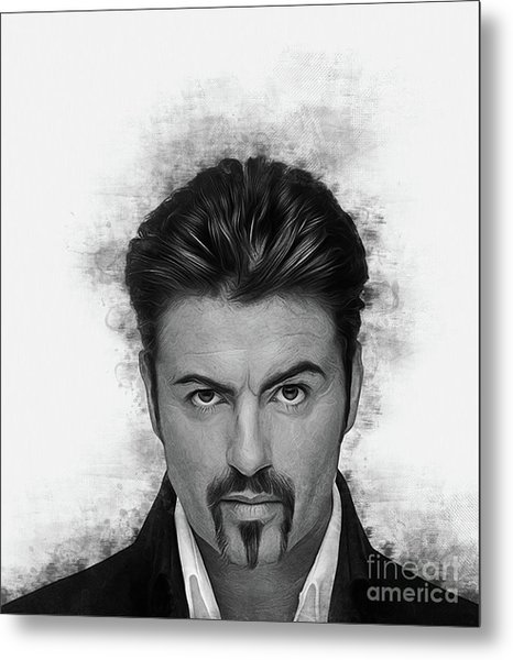 George Michael Metal Print