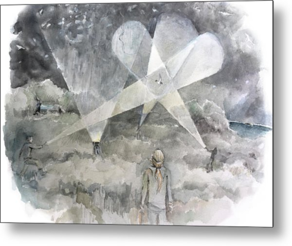 Ghostbusting The New Zealand Storm-petrel Metal Print