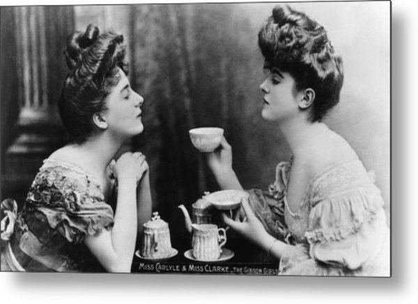 Gibson Girls Metal Print by Hulton Archive